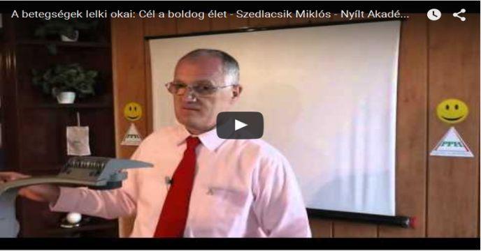 Betegségek lelki okai - Boldog élet - Coaching - Szedlacsik Miklós