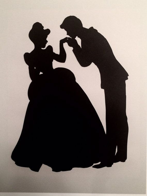 Handmade 8x10 Cinderella and Prince by DesignsByMissMichele