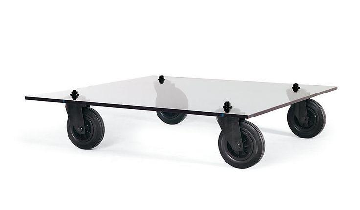 Tavolo Con Ruote Coffee Table FontanaArte DWR Design Within Reach Modern #Modern