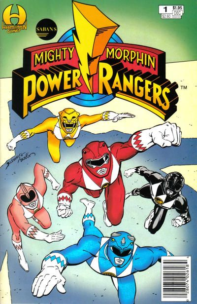 Interestinglty enough, Gray (Red Circle Sorcery) Morrow did artwork for the Mighty Morphin Power Ragers Graphic Album #1, - reprinting the story from Hamilton Comics Mighty Morphin Power Rangers #1. - The great Nicola Cuti wrote the story. - You've got to keep your eye out for some of the work Morrow, Wood, Kirby & Ditko drew.