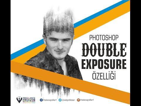 Photoshop Dersleri ( Tutorial ) Double Exposure - YouTube