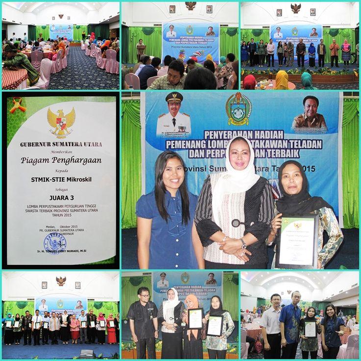 Penyerahan Piagam Penghargaan dari Plt. Gubernur Sumatera