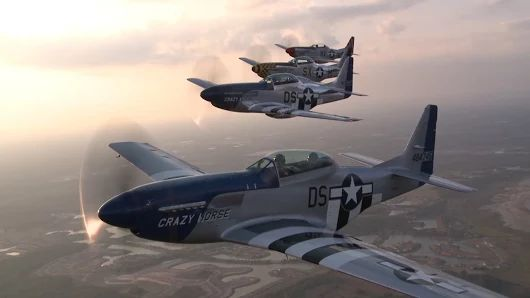 Fly in a Mustang Formation  By+AOPALive #avgeek
