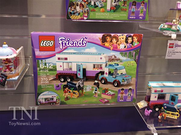 Lego Friends Vet Horse Trailer $40 ~ Lego Friends summer 2016 sets