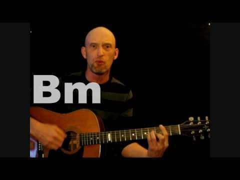 Ziggy Stardust - David Bowie. Beginners Acoustic guitar tutorial ...