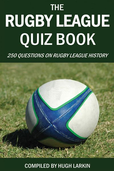 EBook: Are you a fan of rugby league? Do you play the game yourself or enjoy watching others who do? Do you know the history of this fast paced contact sport? If you think you know all about rugby league you are certain to want to test yourself with the 250 challenging questions in this new quiz book.