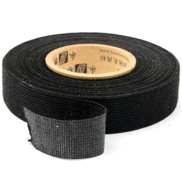 1 PZ Vendita Caldo 19mm x 15 m Tesa Panno Adesivo Coroplast Tape per Cavo del Cablaggio elettrico Loom G0286 P50