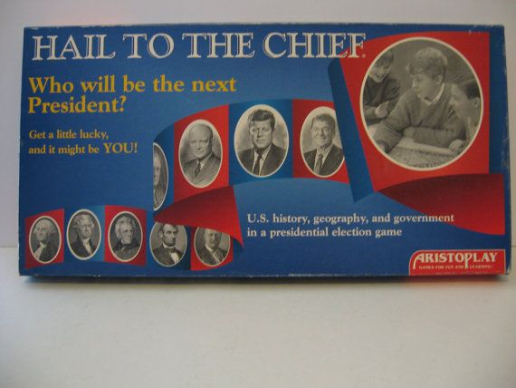Vintage 1995 - Hail to the Chief  - Aristoplay The Presidential Election game