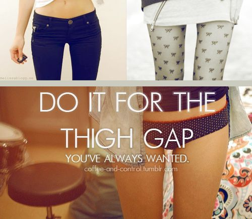 Motivation- I must exercise to bring the thigh gap back! Curse my husband for making me forget that I CAN stop eating before he does!: Thighs Gap, The Gap, So True, Fit Inspiration, Thinspo, Weights Loss, Fit Motivation, Skinny, Thinspiration