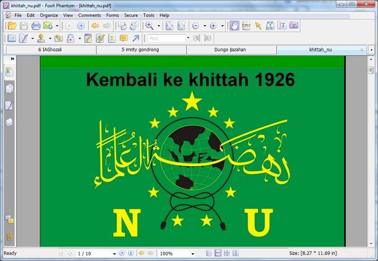 E-Book Khittah NU 1926 dalam Syumila NU versi paket medium 18 GB. dapatkan di www.ldnu.or.id