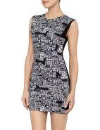 Maurie and Eve Jilted Dress $169.00 #davidjones #trend #season #fashion #style #new #shop #black #white #pattern #print #dress