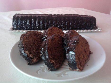 Diós kakaós őzgerinc csokival bolonditva