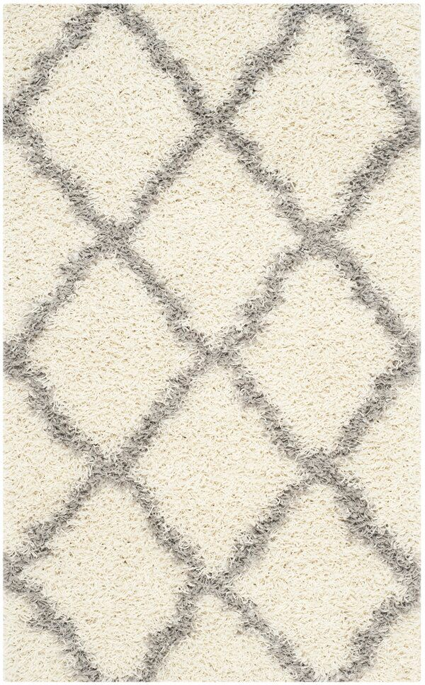 Ines Geometric Ivory Gray Area Rug In 2020 Area Rugs Rugs Grey Area Rug