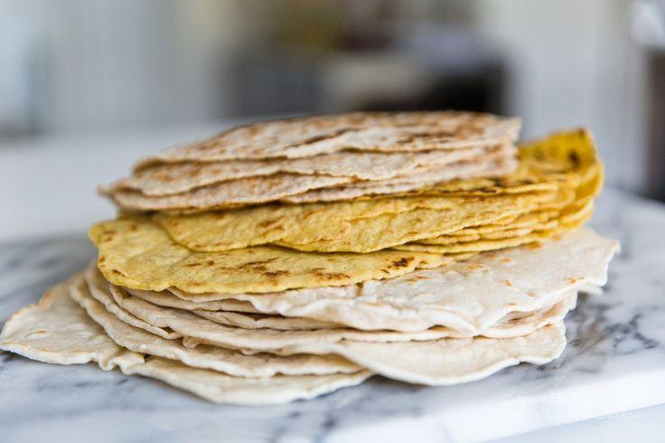 Hemmagjorda Tortillas - 3 olika recept