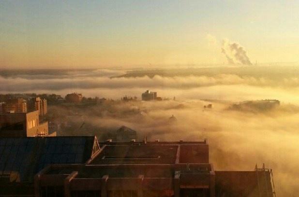 In tweets: Edmonton Twitter users capture fog and frost in breathtaking photos   Laurie Callsen, Metro Edmonton