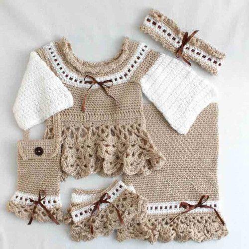 Victoria Ensemble Crochet Pattern