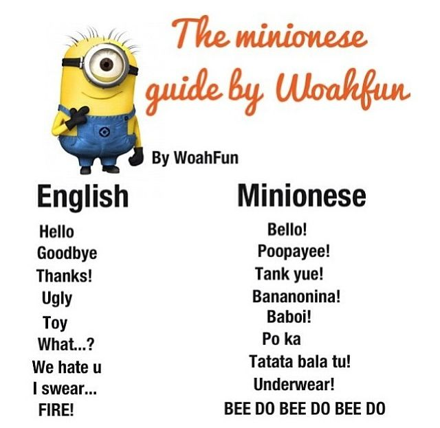 Minion talk @Irene Hoffman Hoffman Hoffman Penkalsky i found it!!!