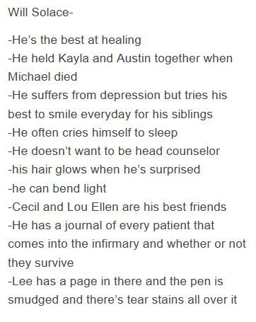 that bit about lee :( and crying himself to sleep, my poor sun (pun intended, sorry)