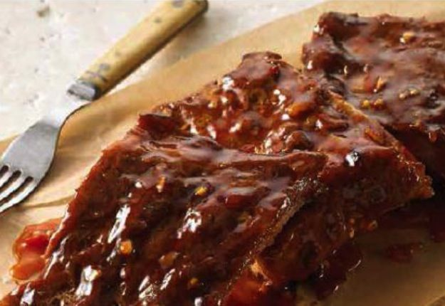 Barbecued Pork Ribs - Real Recipes from Mums