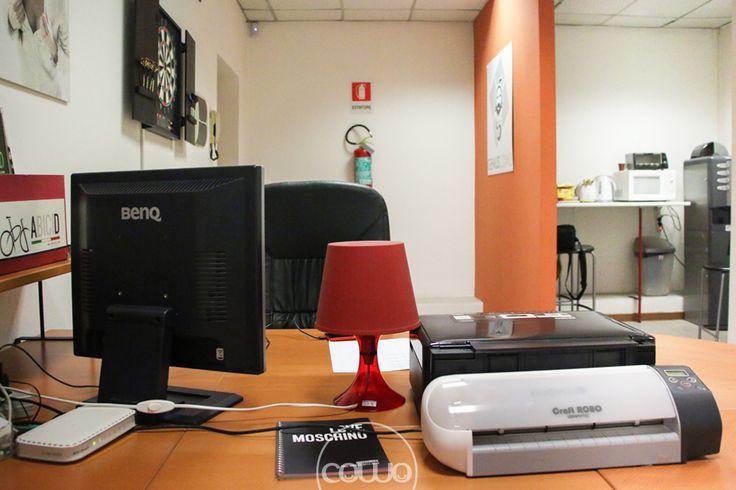 Spazio di coworking a Ospitaletto, Brescia, presso la web agency MDAC. Affiliato alla Rete Cowo® http://www.coworkingproject.com/coworking-network/ospitalettobrescia/