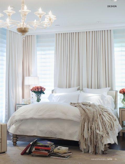 soft neutral bedroom via dabble
