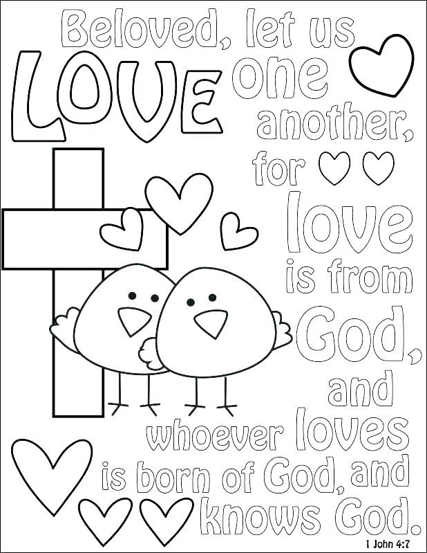 Pin By Gwen Sharp On Sunday School Love Coloring Pages Bible Coloring Pages Scripture Coloring