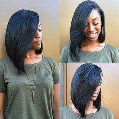 The 25+ best Weave bob hairstyles ideas on Pinterest   Sew in bob ...