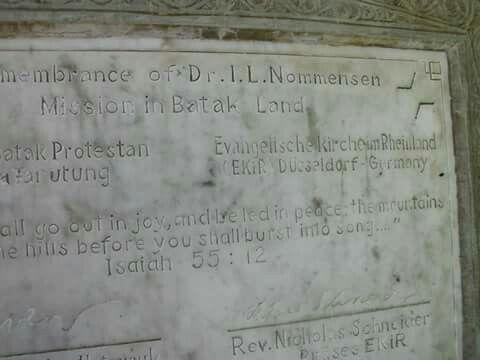 Ludwig Ingwer Nommensen, Salib Kasih, Indonesia