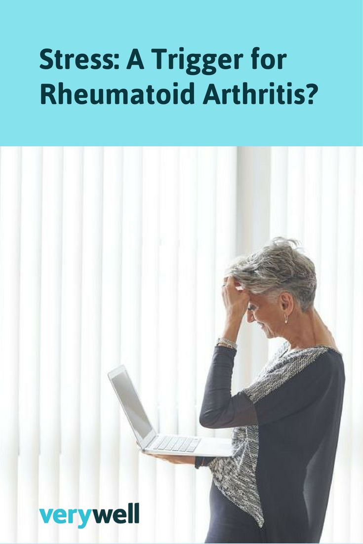 Is there concrete evidence that stress is a trigger of rheumatoid arthritis and related conditions? Is stress a factor in disease activity for those conditions? Learn more about stress as a potential trigger for rheumatoid arthritis and what you can do to manage it.