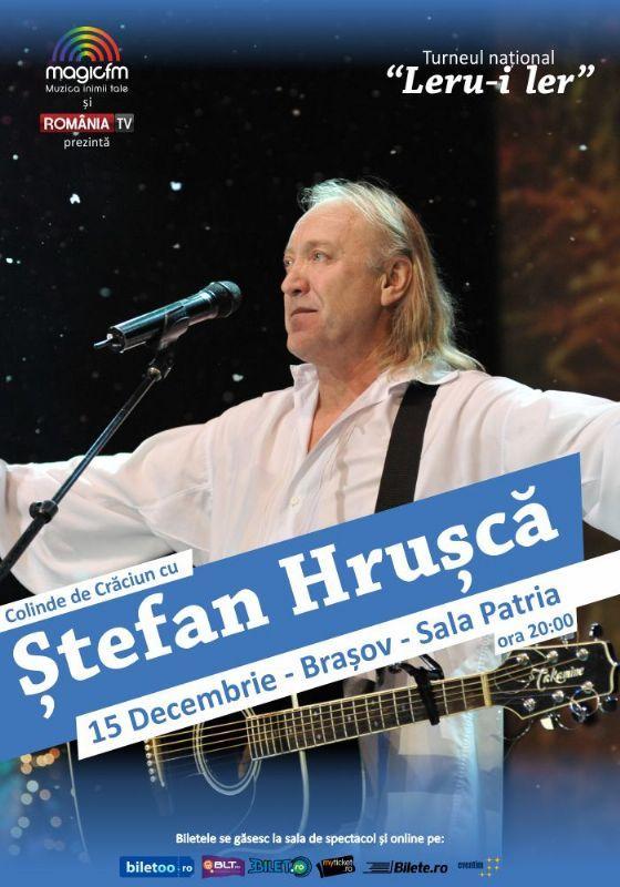 Marti, 15 Decembrie 2015, ora 20:00, Sala Patria, Brasov