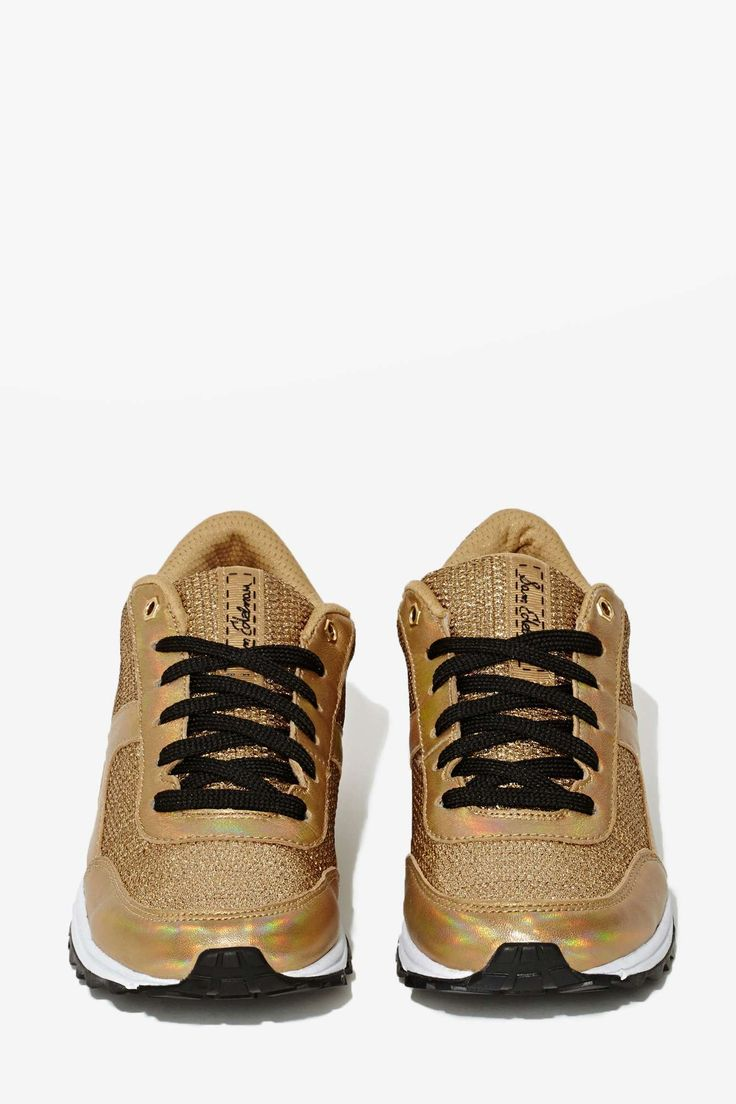 Sam Edelman Dax Metallic Trainer, sneakers