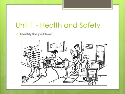 GCSE ICT theory Health and Safety in the workplace