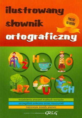 Ilustrowany słownik ortograficzny SPLENDOR24.pl
