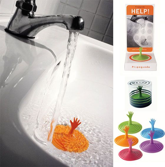 haha //Creative and Playful Tub Plugs and Drain Stoppers
