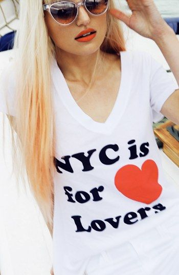 NYC is for lovers.