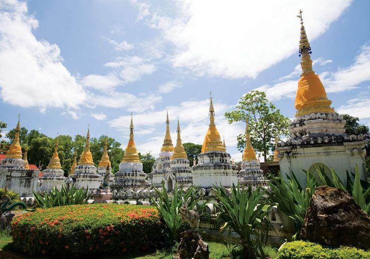 🌎Thailand: Wat Chedi Sao : Lampang, Thailand
