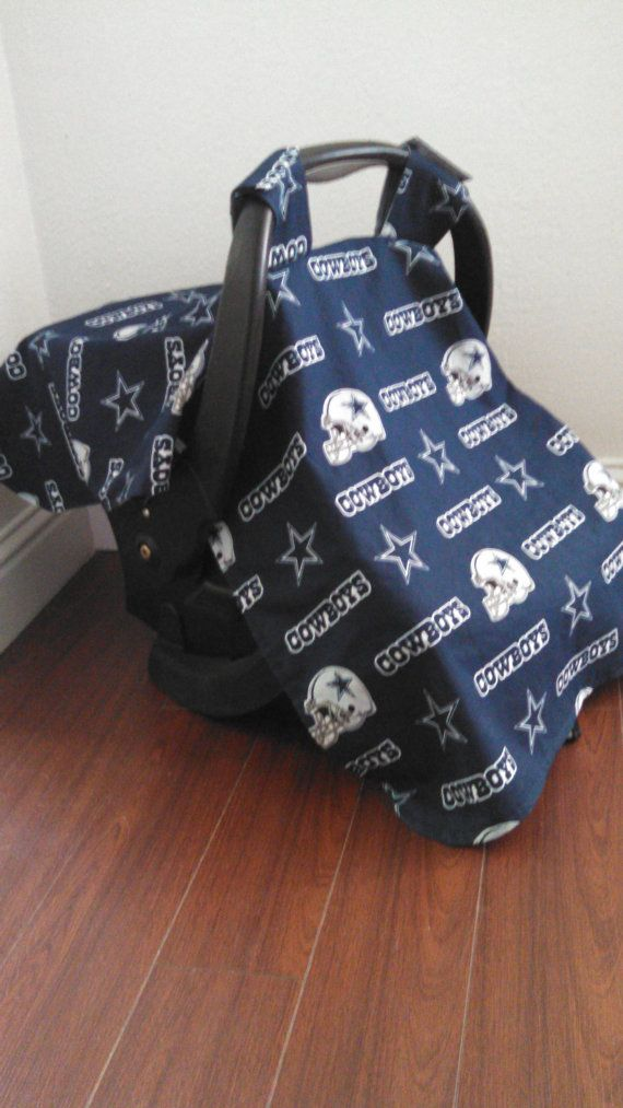 Dallas Cowboys Car Seat Canopy By RodellsBoutique On Etsy 3200