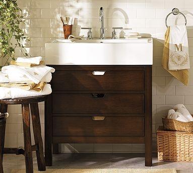 I dream of replacing our bathroom sinks...