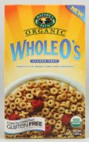 Nature's Path Organic Whole O's Cereal Gluten Free