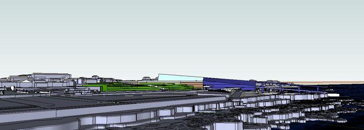 Vista lateral norte