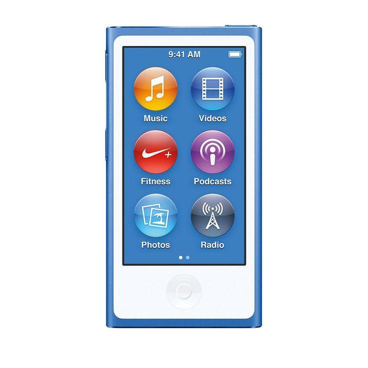 Apple iPod nano 16GB Blue (alle farver kan I virkeligheden gå). 1249kr I computer city