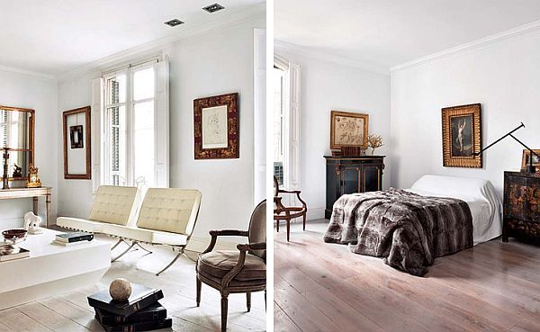 Apartment in Barcelona with a vintage style