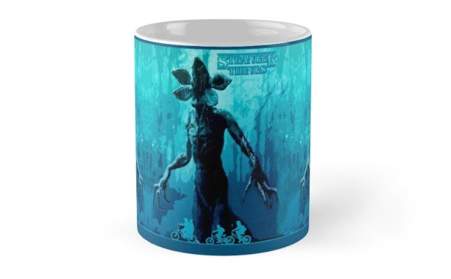 12 Days of Promos: 25% off Mugs. Use code DAYTWO. Stranger Things blue Mug by Scar Design. #mug #promotion #gifts #family #popular #discount #tv #tvshow #series #strangerthingsmug #strangerthings #shopping #sales #39;s • Also buy this artwork on home decor, apparel, stickers, and more.