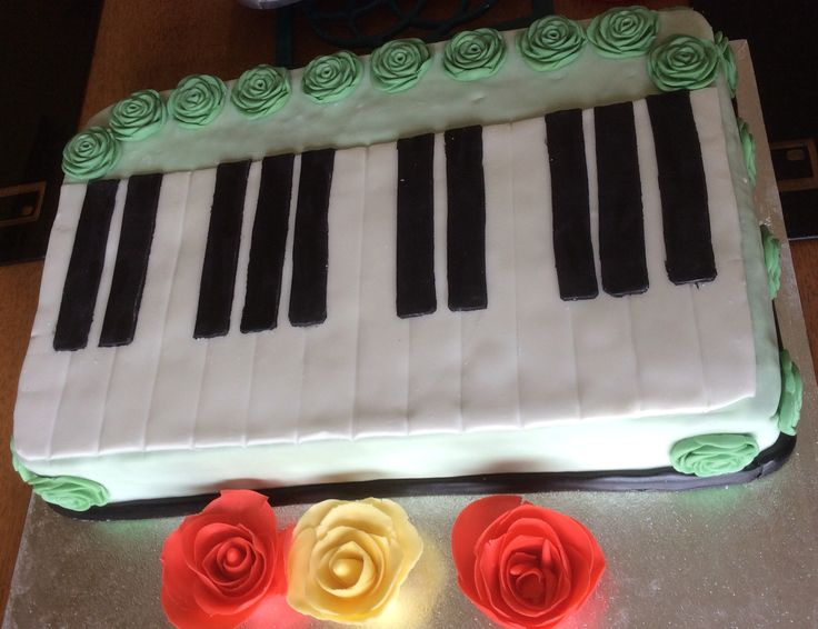 Cake for a piano CD launch