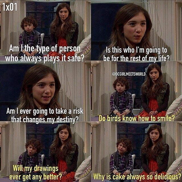 "#GirlMeetsWorld 1x01 ""Girl Meets Boy"" - Riley and Auggie"