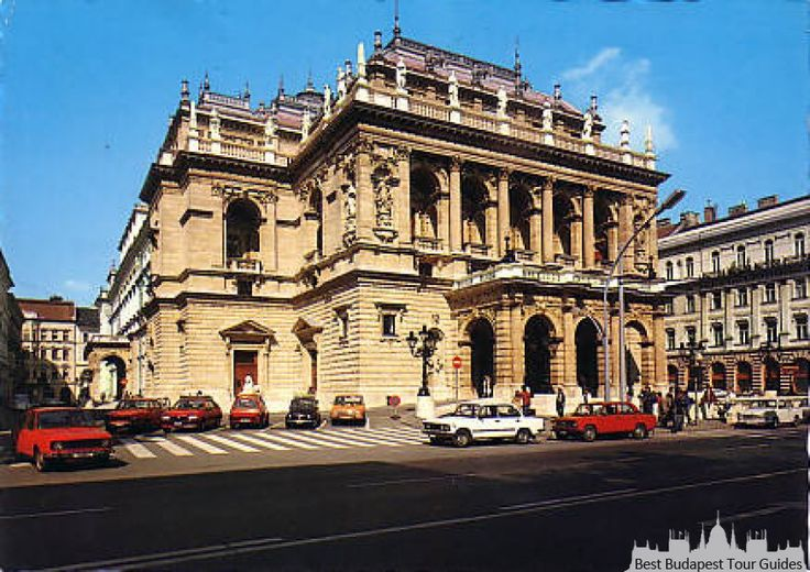 The Opera House in Budapest was built at the place of a flea-market!