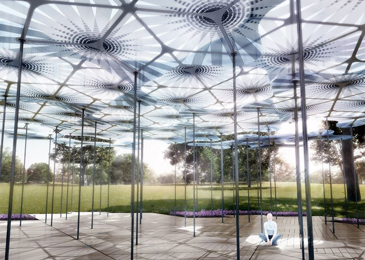 Check out this year's MPavilion – Australia's answer to the Serpentine Gallery Pavilion.