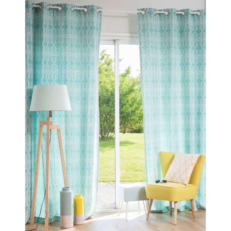 les 25 meilleures id es de la cat gorie rideaux couleur menthe sur pinterest menthe chambre et. Black Bedroom Furniture Sets. Home Design Ideas