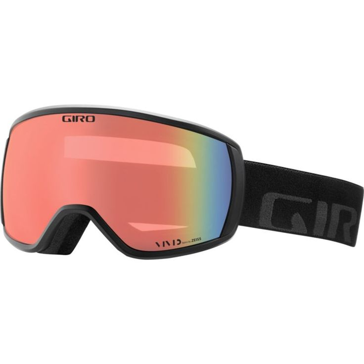 Giro Adult Balance Snow Goggles, Black