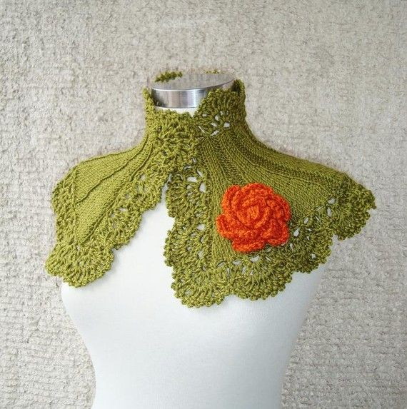SPECIAL SALE  Extremely Fashionable Olive Green by Starknitting